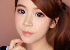 甜美可爱日系大眼妆的画法 做个萌系美少女