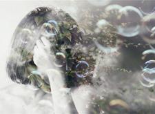 最新影樓資訊新聞-虛無的少女夢 Miki Takahashi多重曝光攝影作品