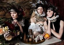 最新影楼资讯新闻-英国摄影师Josh Olins镜头下古典美感的时装大片 