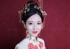 最新影楼资讯新闻-*美红妆新娘造型