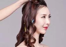 **显气质的新娘发型教程 刚好符合你的美