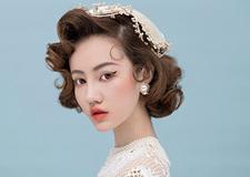 最新影楼资讯新闻-美式复古新娘造型欣赏
