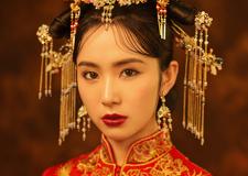 最新影楼资讯新闻-2018春秋***流行趋势 中式嫁衣轻奢复古造型
