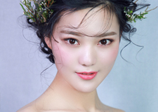 最新影楼资讯新闻-森系花漾新娘妆容造型