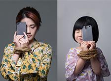 最新影楼资讯新闻-DAVE KOH创意公益摄影活动 手机与小孩