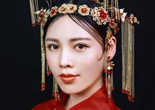 最新影楼资讯新闻-典雅中式新娘造型 传统大雅之美