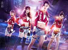 最新影楼资讯新闻-科幻风数字艺术海报作品 SNH48途虎战队
