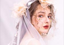 最新影楼资讯新闻-少女感的新娘妆面造型 美得不可方物