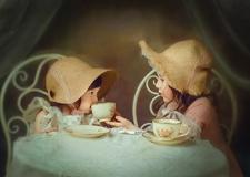 最新影楼资讯新闻-油画里的柔美时光 儿童实例摄影教程