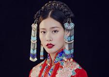 最新影楼资讯新闻-红妆 古典中式新娘造型欣赏