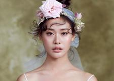 最新影楼资讯新闻-冬季创意鲜花新娘造型