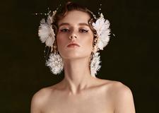 最新影楼资讯新闻-轻复古系列鲜花新娘造型欣赏