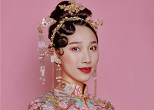 最新影楼资讯新闻-新中式新娘造型 带你遇见不一样的美