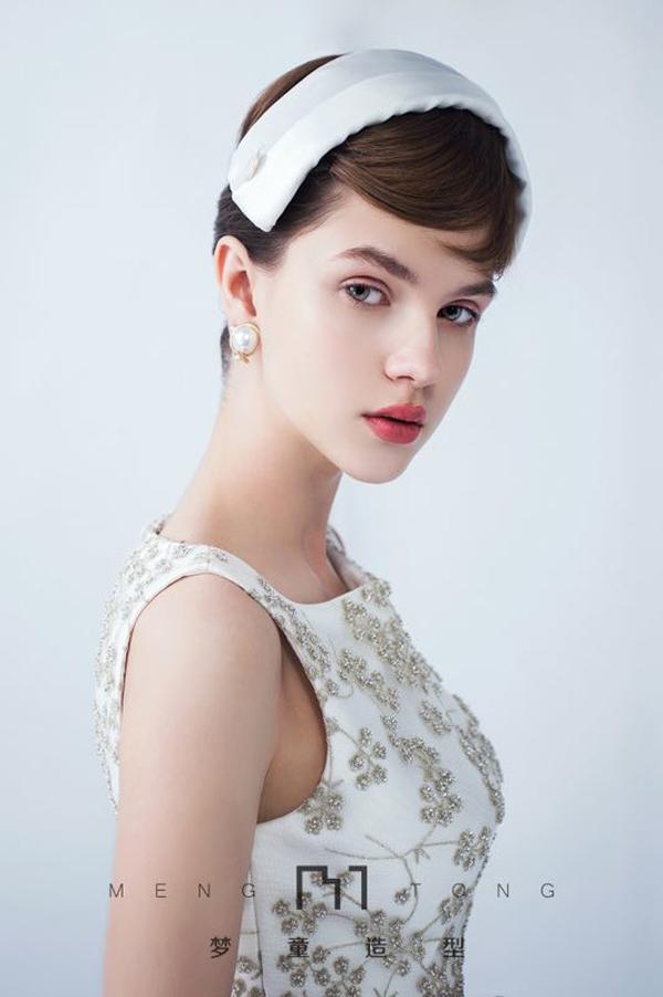 复古新娘发型 优雅复古的新娘造型