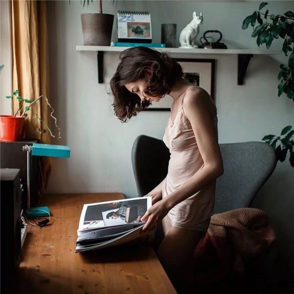 摄影写真 人像摄影实例,饱满构图与画面构造