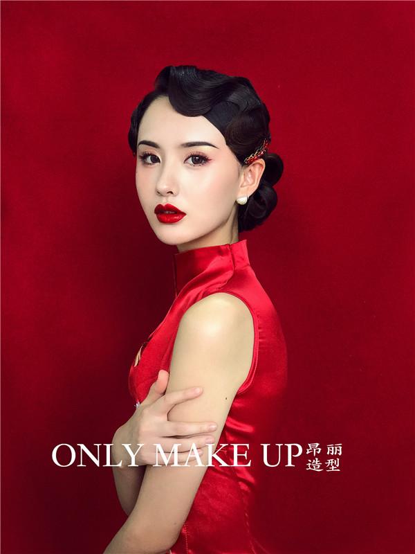 中式新娘妆容造型赏析