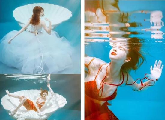 最新影樓資訊新聞-水下人像攝影拍攝方法與后期思路分享