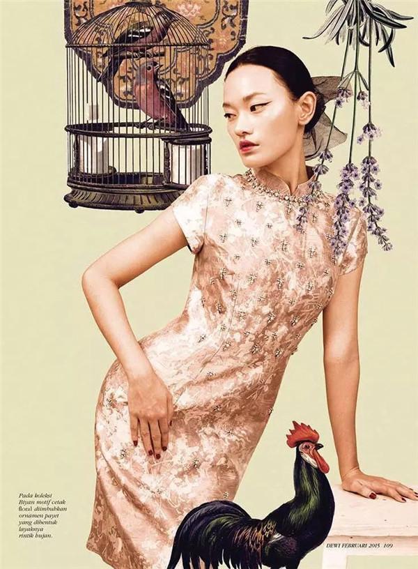 一袭旗袍几许情,印尼鬼才摄影师镜头下的中国风同样醉人
