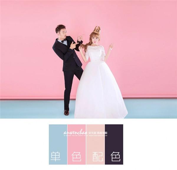 室内婚纱照 婚纱写真,用PS给影楼室内婚纱照做出清新活泼感