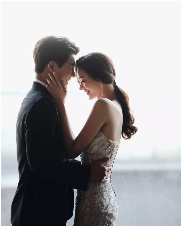 韩系婚纱情侣样片赏析
