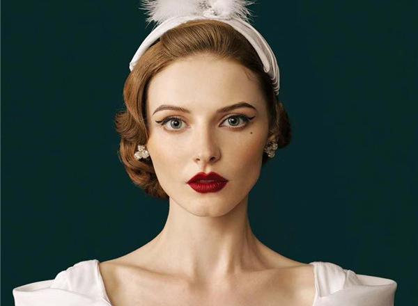 最新影楼资讯新闻-新娘造型流行趋势之复古妆容