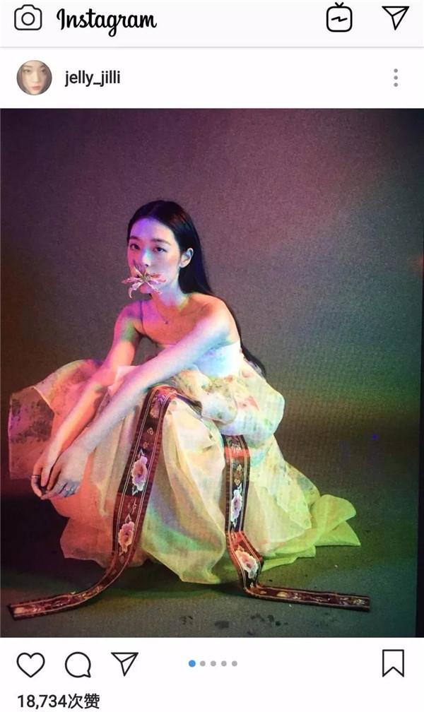 崔雪莉神级画报的同款妆容满满都是小心机!