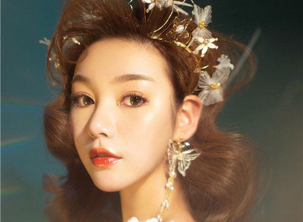 最新影楼资讯新闻-甜美轻盈妆发,打造梦幻新娘