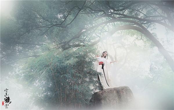 空山鹤灵:古装人像写真作品