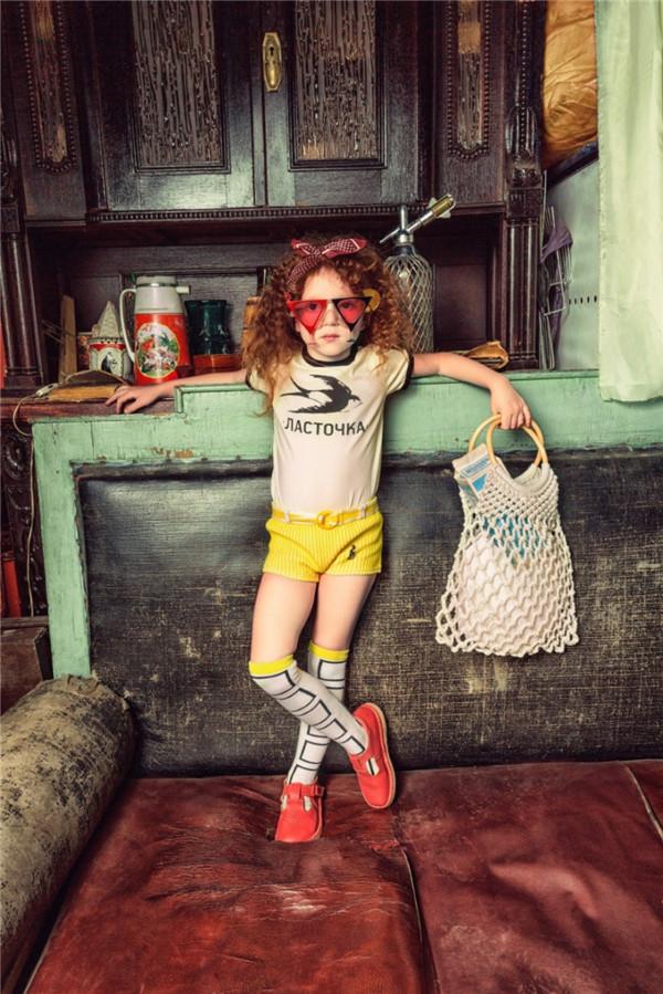 个性时尚儿童摄影 复古浓郁的怀旧气质