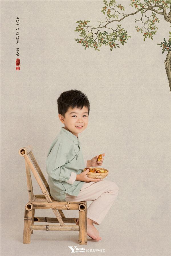 国风天真儿童摄影写真作品