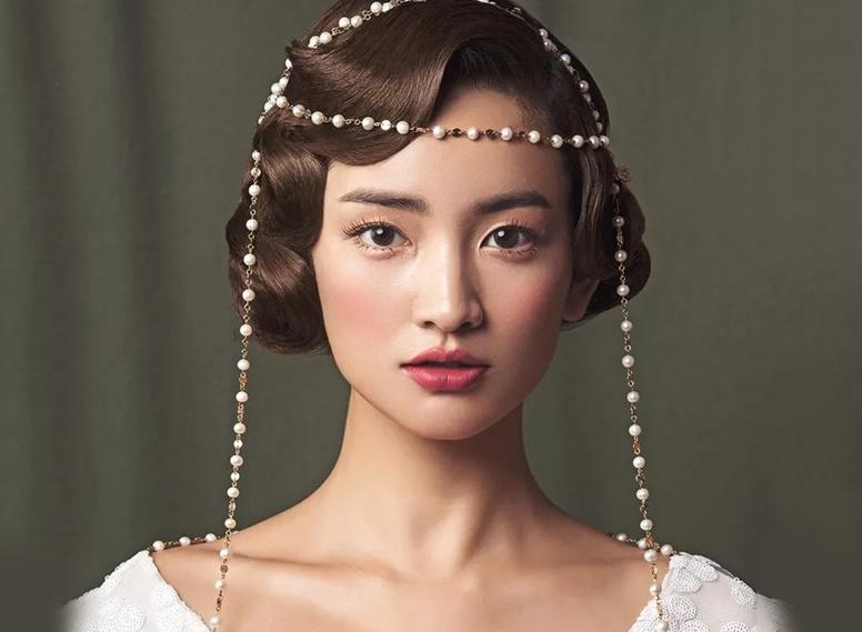 最新影楼资讯新闻-魅力发髻,鬓间复古发型带来新感觉
