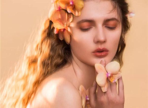 最新影楼资讯新闻-橘色系芭比,少女妆容造型