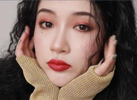 秋冬慵懒妆容教程:红棕调的泫雅仿妆