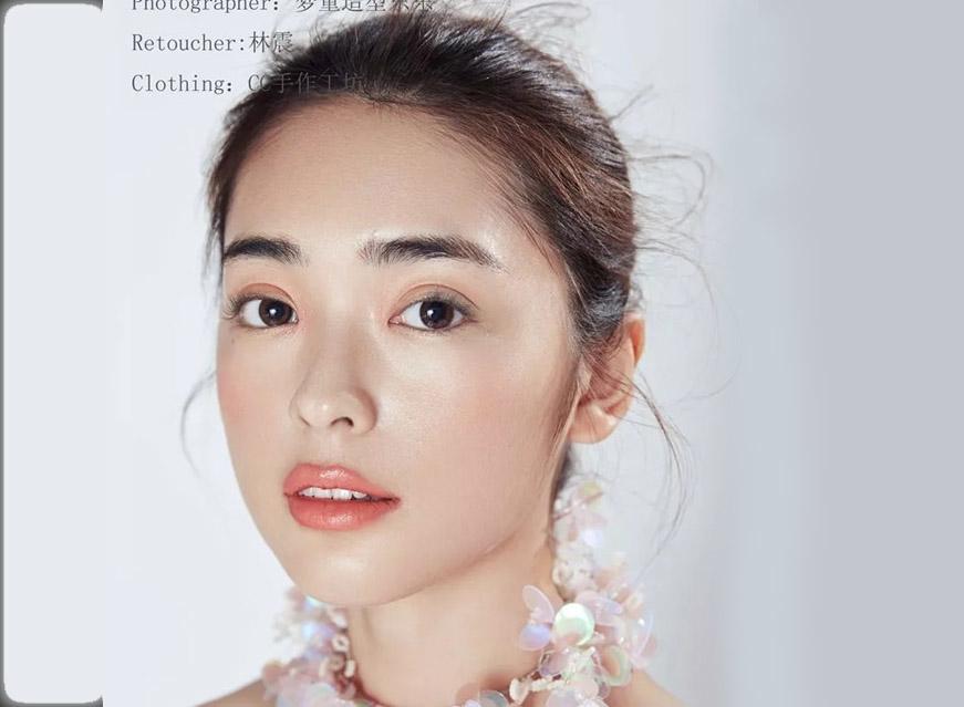 最新影楼资讯新闻-清透自然裸妆体验妆效欣赏