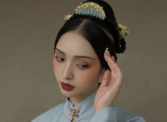 最新影楼资讯新闻-中式妆容写真造型欣赏