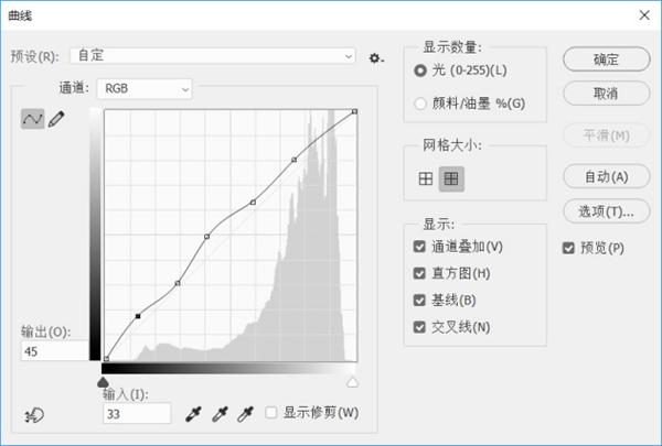 ps教程:曲線和色階有哪些異同之處