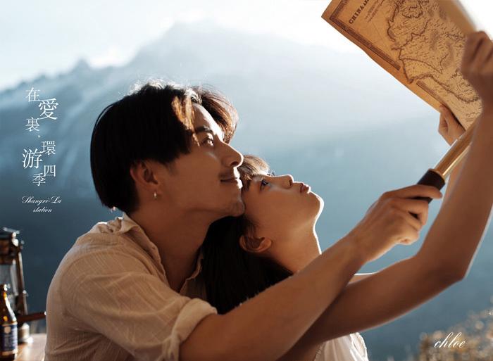 最新影楼资讯新闻-克洛伊旅拍:带你在爱里,环游四季
