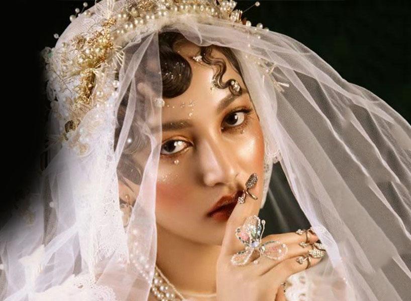 最新影楼资讯新闻-轻复古妆效呈现白纱新娘