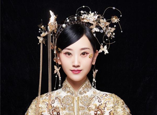 最新影楼资讯新闻-娇媚优雅的中式新娘妆发造型