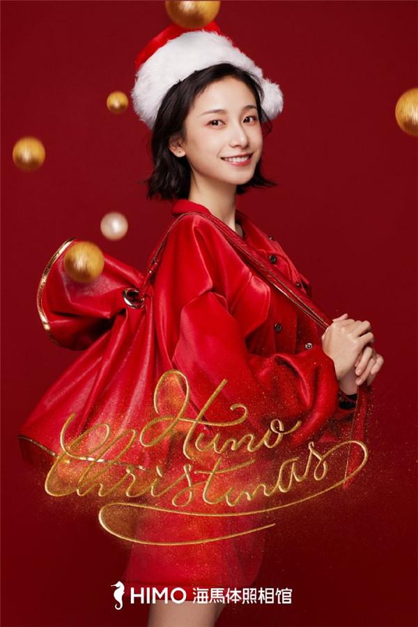 网红爆款的海马体照相馆,抓住热点上线圣诞照!