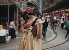 最新影楼资讯新闻-今期*流行的香港街拍:极具个性