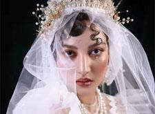 最新影楼资讯新闻-华丽复古新娘造型欣赏