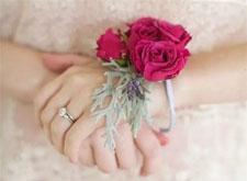 新娘手腕花如何佩戴和制作的方法,你学会了吗?