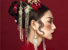 最新影楼资讯新闻-充满魅惑感的中式新娘造型