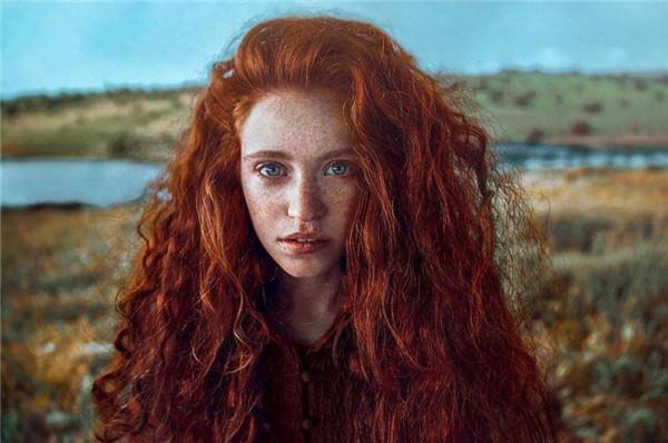 清新自然的女性形象,柔美细腻的肖像摄影