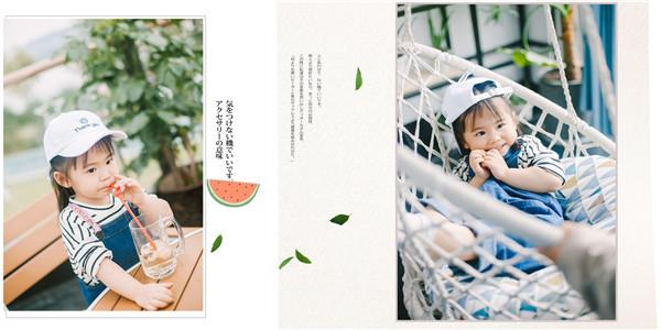 黑光儿童摄影 日系风格的儿童摄影,干净纯粹