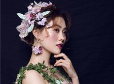 最新影楼资讯新闻-森系风格的鲜花新娘造型欣赏 宛如林中仙子
