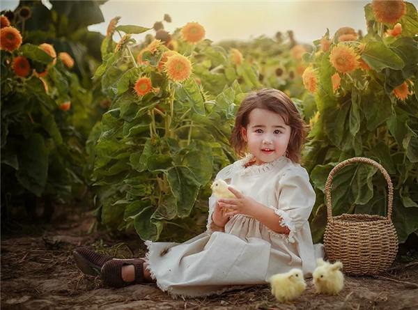 恬淡悠然的画意田园风儿童摄影都是怎么拍出来的?