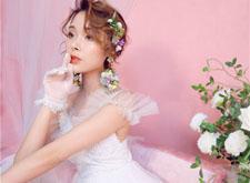 最新影楼资讯新闻-粉色少女新娘造型系列 俏皮可爱