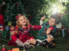 最新影楼资讯新闻-圣诞欢歌:应时应景的儿童样片主题